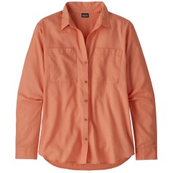 Patagonia Womens LW A/C Buttondown, M, MELLOW MELON