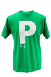 Pilte T-shirt Grøn