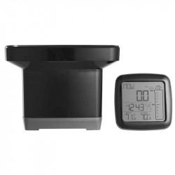 Regnmåler med ude/inde termometer