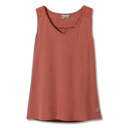 Royal Robbins Womens Flynn V-neck Tank, XL, MUIRWOOD