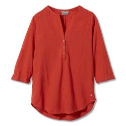 Royal Robbins Womens Oasis Tunic II 3/4, XL, MANGO