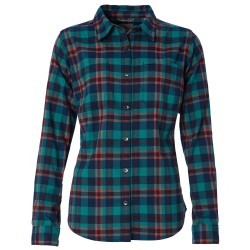 Royal Robbins Womens Thermotech Flannel, S, HARBOR