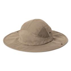 RR Bug Barrier Snap Brim Sun Hat, S/M, SANDSTONE