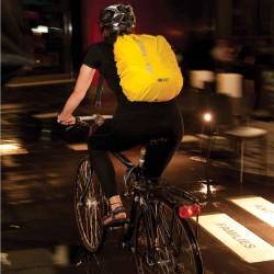 Rygsækovertræk udviklet til cykelbrug