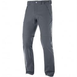 Salomon Wayfarer Straight Zip Pant Mens, Grey