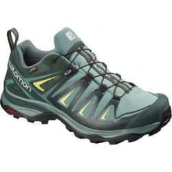 Salomon X Ultra 3 Wide GTX Womens, Artic / Darkest Spruce