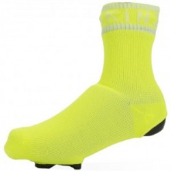 Sealskinz Waterproof All Weather Cycle Oversock - Neon Yellow/White - Str. XL - Strømper