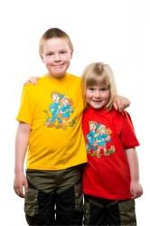 Sille og Sigurd T-shirt Rød