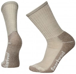 Smartwool Hike Light Crew, L, TAUPE
