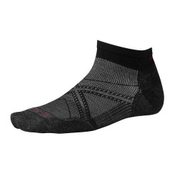 Smartwool Ms PhD Run Light Elite Low Cut, L, BLACK