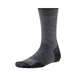 Smartwool PhD Outdoor Light Crew, XL, MEDIUM GRAY
