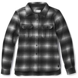 Smartwool Ws Anchor Line Shirt Jacket, L, MEDIUM GRAY