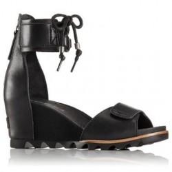 Sorel Joanie Ankle Lace Dame, Black