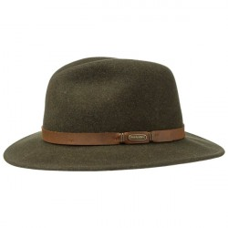 Stetson Travel Vitafelt Hat Grøn Stone XXL
