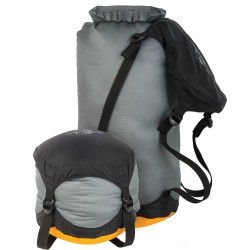 STS Ultra-sil Compression 14 L Dry Sack, M, GREY
