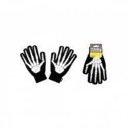 Suck Uk Gloves Reflective Skeleton - Vanter