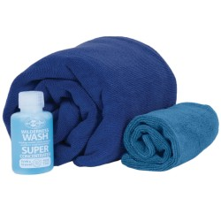 Tek Towel Wash Kit Large Cobalt Blue