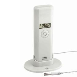 Termo-hygro sensor med ledningsføler til Weather Hub Wifi Vejrstation