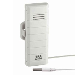 Termometer-sensor med ledningsføler til Weather Hub Wifi Vejrstation