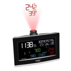 TFA vækkeur med projektor og termo-/hygrometer
