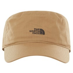 The North Face Logo Military Hat, SM, CEDAR BROWN