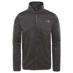 The North Face Mens Canyonlands Full Zip, Dark Grey Heather