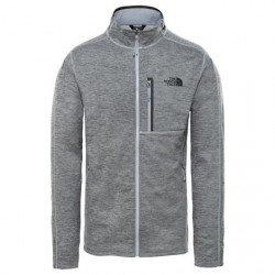 The North Face Mens Canyonlands Full Zip, Grey Heather