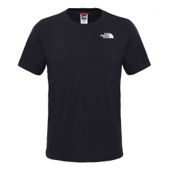 The North Face Mens S/S Red Box Tee, L, TNF BLACK