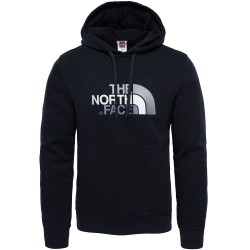 The North Face Ms Drew Peak Pull Hoodie, L, TNF BLACK/TNF BLACK