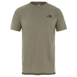 The North Face Ms North Dome Active S/S, L, BURNT OLIVE GREEN HEATHER