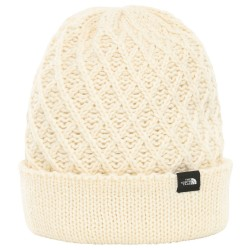 The North Face Shinsky Beanie, ONE SIZE, VINTAGE WHITE CRISS CROSS STCH