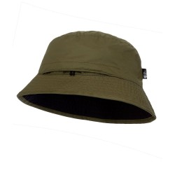 The North Face Sun Stash Hat, SM, TNF BLACK/NEW TAUPE GREEN