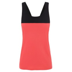 The North Face Womens North Dome Tank, M, CAYENNE RED/TNF BLACK