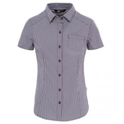 The North Face Womens S/S Bryce Shirt, Blackberry Wine