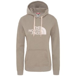 The North Face Ws Drew Peak PO Hoodie, S, SILT GREY