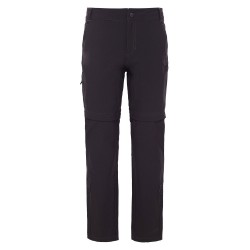 The North Face Ws Exploration Conv. Pant, 6-REG, TNF BLACK