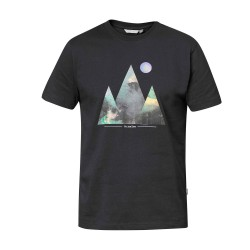 Tierra Mens Tee - You Are Here, S, BLACK