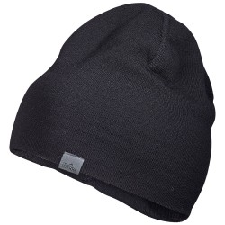 Tierra Solid Beanie, ONE SIZE, BLACK