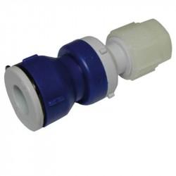 Tilbageløbsventil 12 mm rør - 10 mm slange