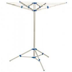 Tørrestativ 4 armet med ben, 17,5 meter tørreplads