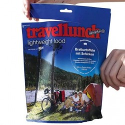 Travellunch Kartoffelmos med kød og porre