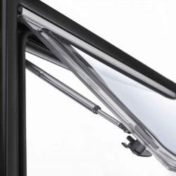 Trinløse friktionshængsler til S4 vinduer Højre 400 mm