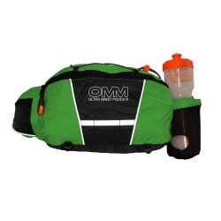 Ultra Waist Pouch (With Bottle) Green/Black