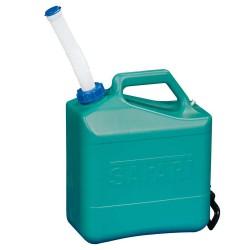 Vanddunk med fleksibel hældetud 15 liter