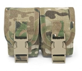 Warrior Assault Systems Double Frag Grenade Pouch