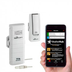 WeatherHub Wifi Vejrstation - Startsæt 2
