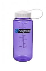 Wide Mouth 500 ml, Purple/white
