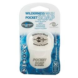 Wilderness Wash Pocket Soap 50 blade