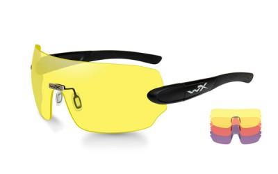Wiley X Detection Brille Med 3 Glas Yellow, Orange, Purple
