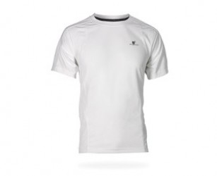 Wolf Camper Basic T-shirt White